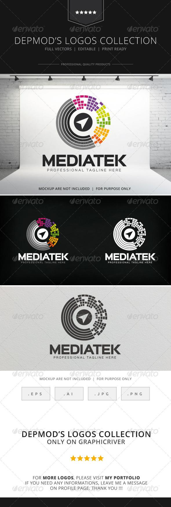 GraphicRiver Mediatek Logo 8314654