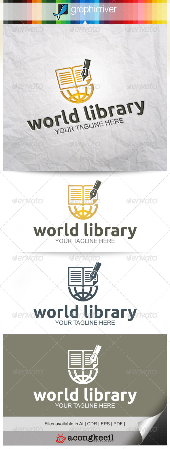 GraphicRiver World Library 8314962