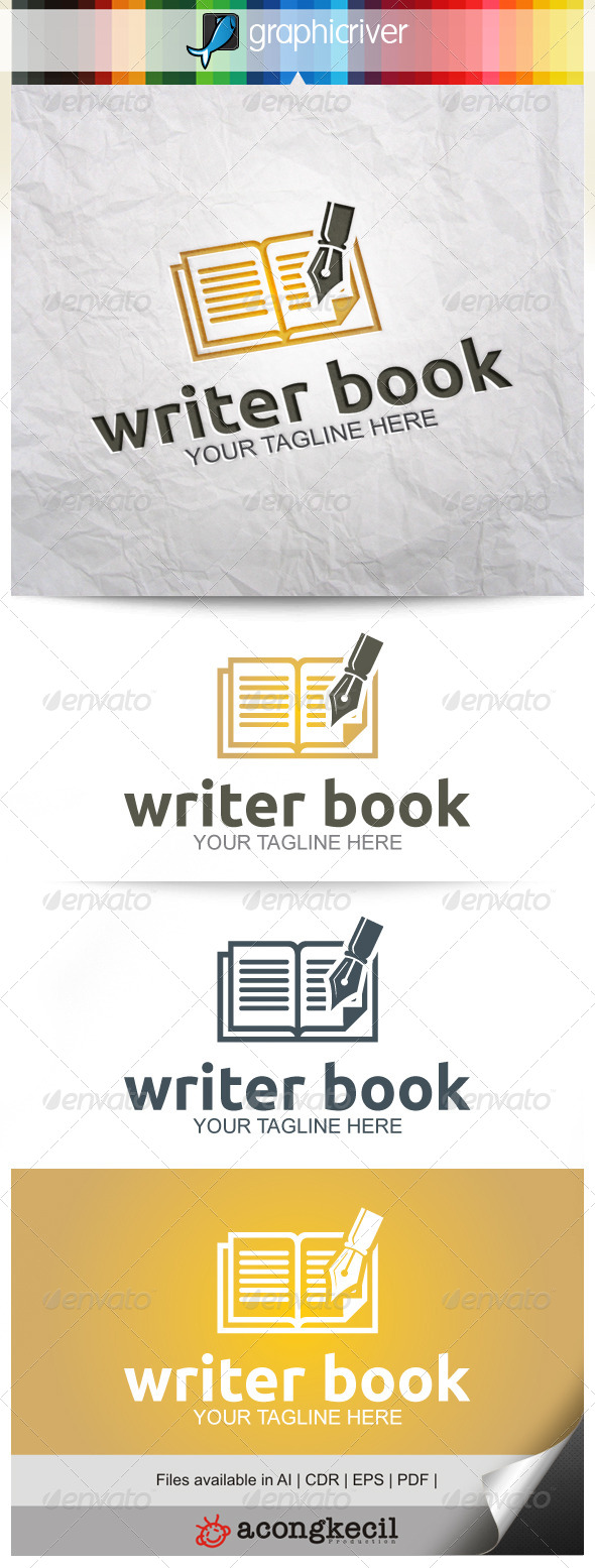 GraphicRiver Writer Book 8314968
