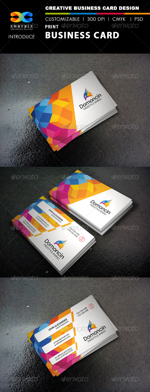 GraphicRiver Print Business Card 8314995