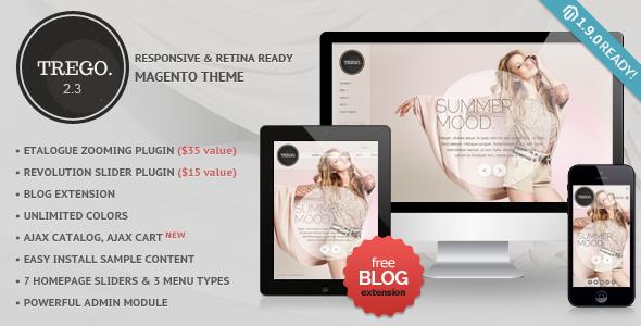Trego - Premium Responsive Magento Theme - Magento eCommerce