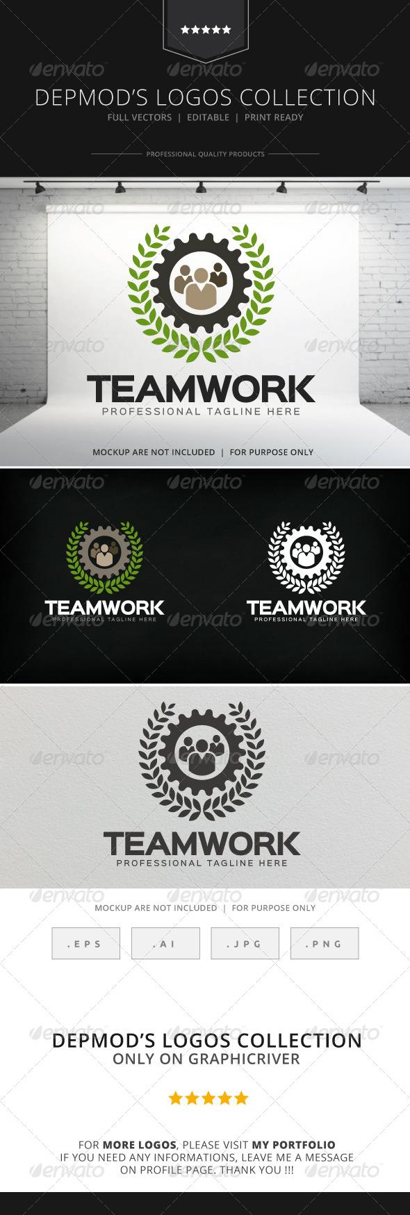 GraphicRiver Teamwork Logo 8315165
