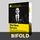 Bold BiFold Business Brochure - GraphicRiver Item for Sale