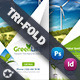 Green Energy Tri-Fold Templates - GraphicRiver Item for Sale