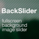 Backslider - Fullscreen Background Image Slider