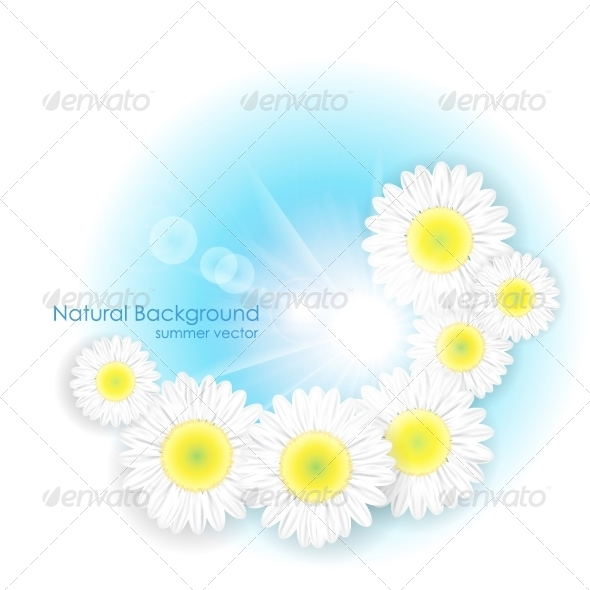 GraphicRiver Spring Summer Floral Design 8315628