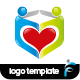 Love People Logo - GraphicRiver Item for Sale