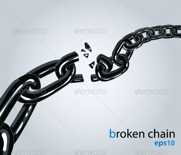 GraphicRiver Broken Chain 8315754