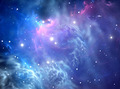 Blue space nebula - PhotoDune Item for Sale