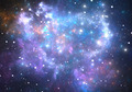 Space background with nebula and stars - PhotoDune Item for Sale