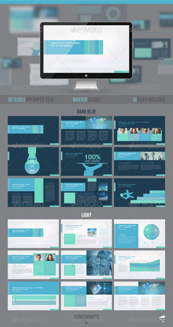 GraphicRiver Business presentation template 8316020
