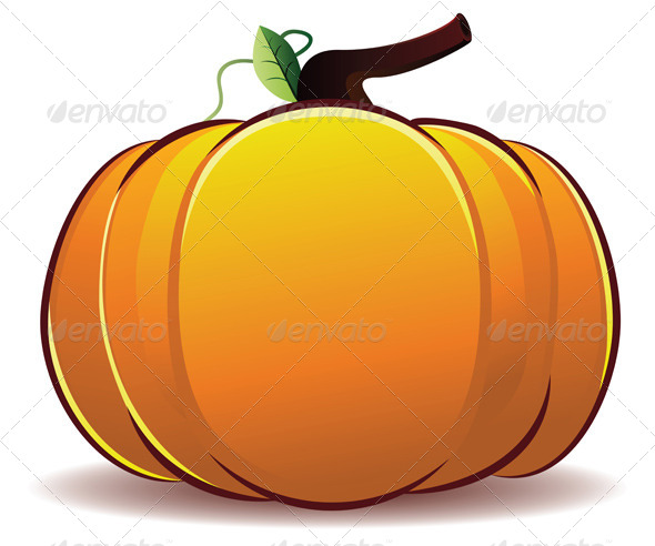 GraphicRiver Pumpkin Illustration 8316529