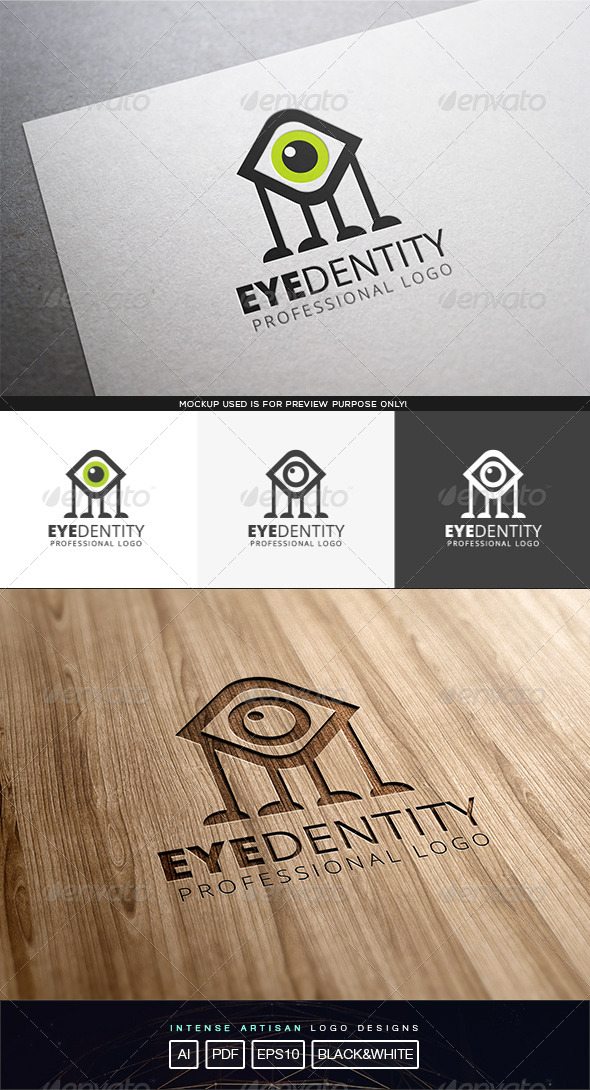 GraphicRiver Eyedentity Logo Template 8316787
