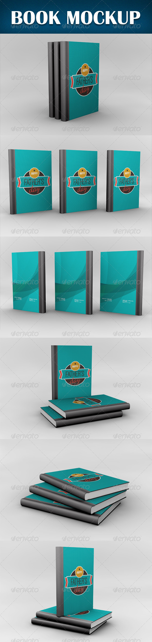 GraphicRiver Book Mockup 8317204