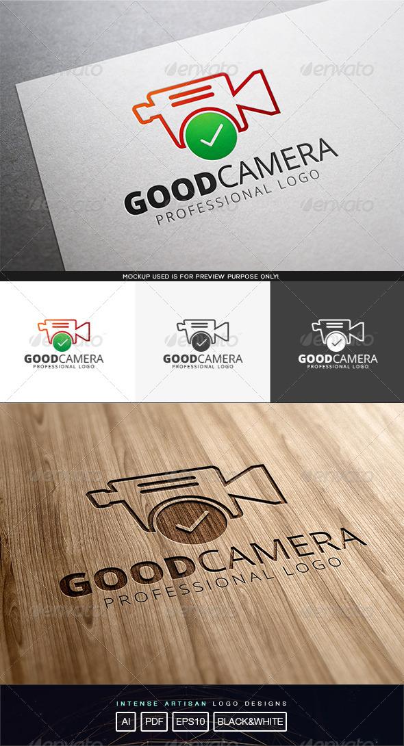 GraphicRiver Good Camera Logo Template 8317268
