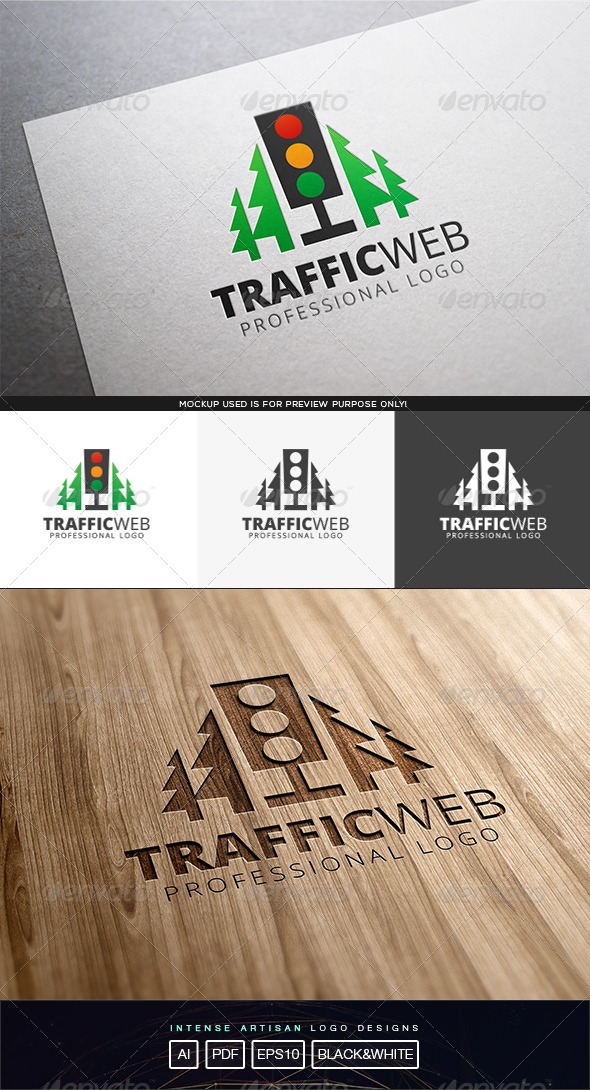 Traffic Web Logo Template