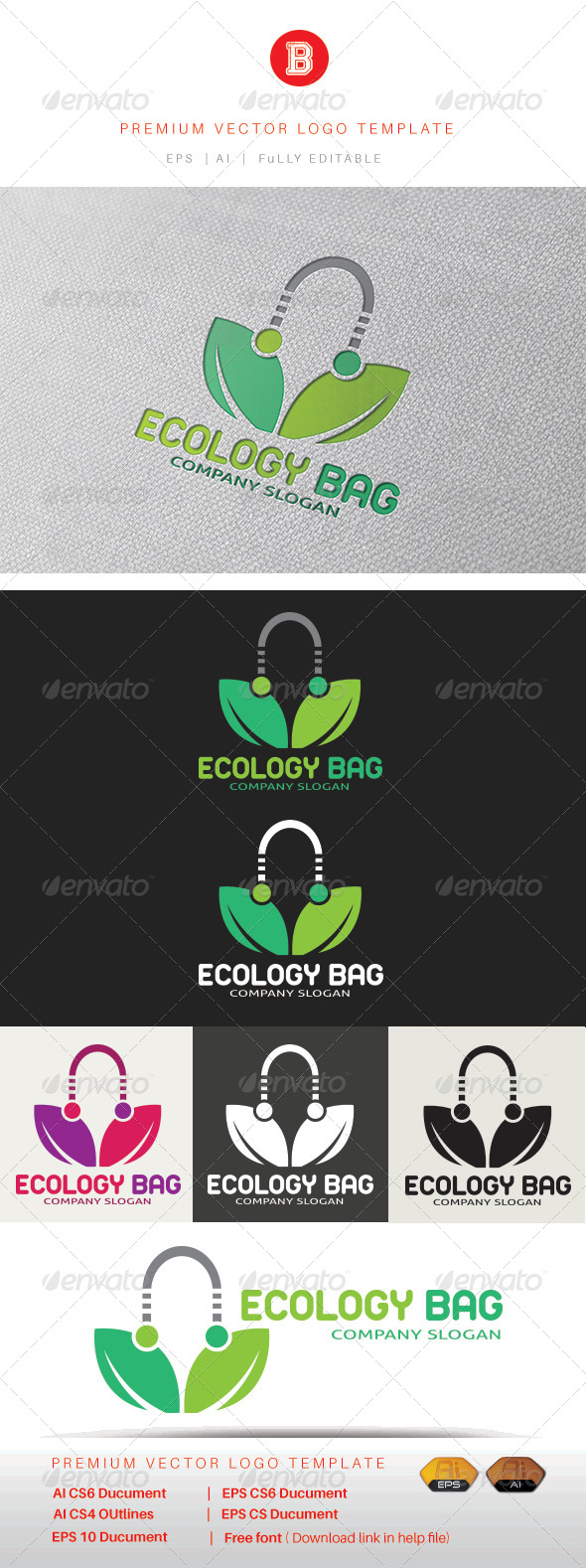 GraphicRiver Ecology Bag 8317475