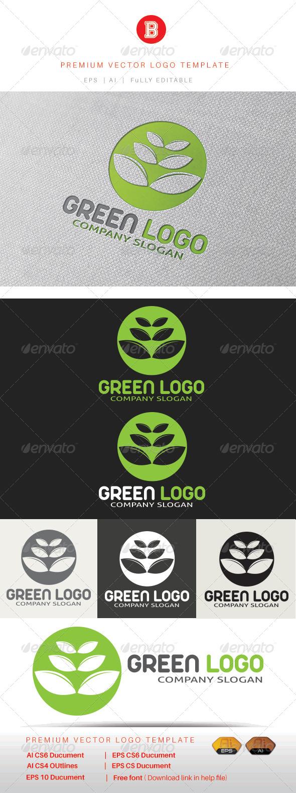 GraphicRiver Green Logo 8317480