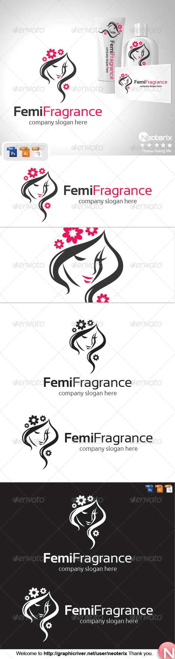 GraphicRiver Feminine Fragrance 8317496