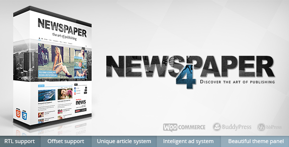 Newspaper 9.6 – WordPress Theme