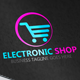 Electronic Shop Logo - GraphicRiver Item for Sale