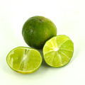 Fresh lime and slice, Isolated on white background - PhotoDune Item for Sale