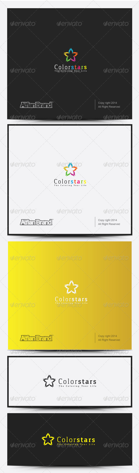 GraphicRiver Color Star Logo 8317780