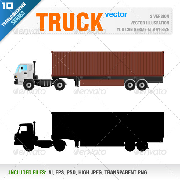 GraphicRiver Detailed Truck 8317879