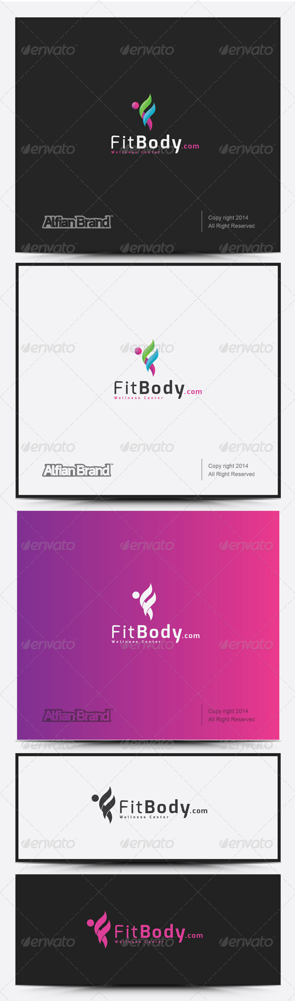 GraphicRiver Fit Body Logo 8318003