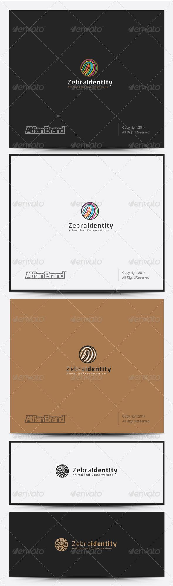 GraphicRiver Zebra Identity Logo 8318004