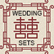 Oriental Style Wedding Invitation and Card Sets - GraphicRiver Item for Sale