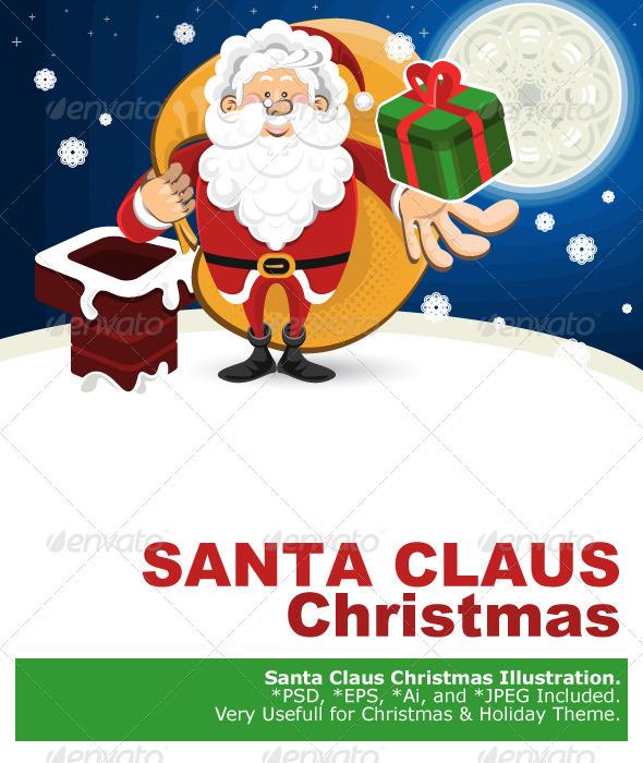 Santa Claus Christmas - Christmas Seasons/Holidays