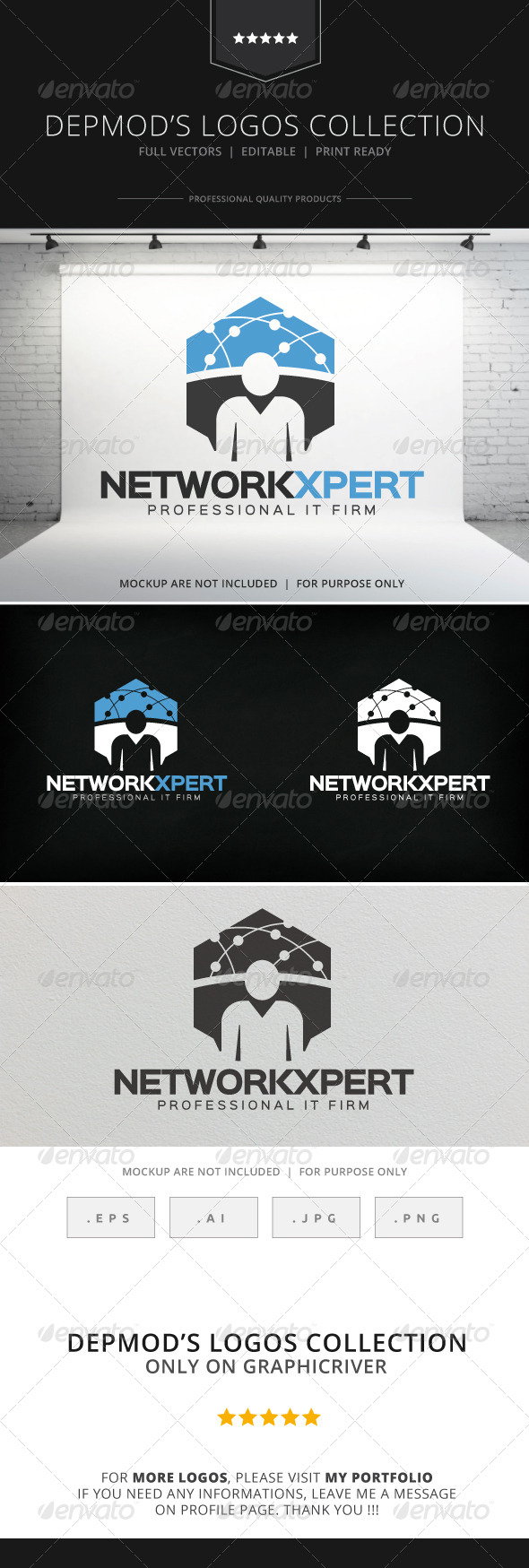 GraphicRiver Network Xpert Logo 8318441