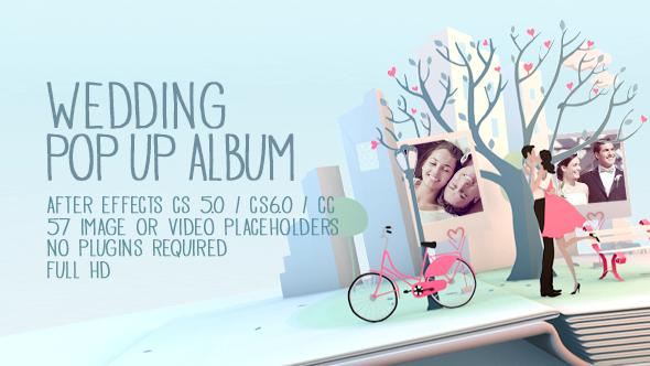Wedding Pop Up Album