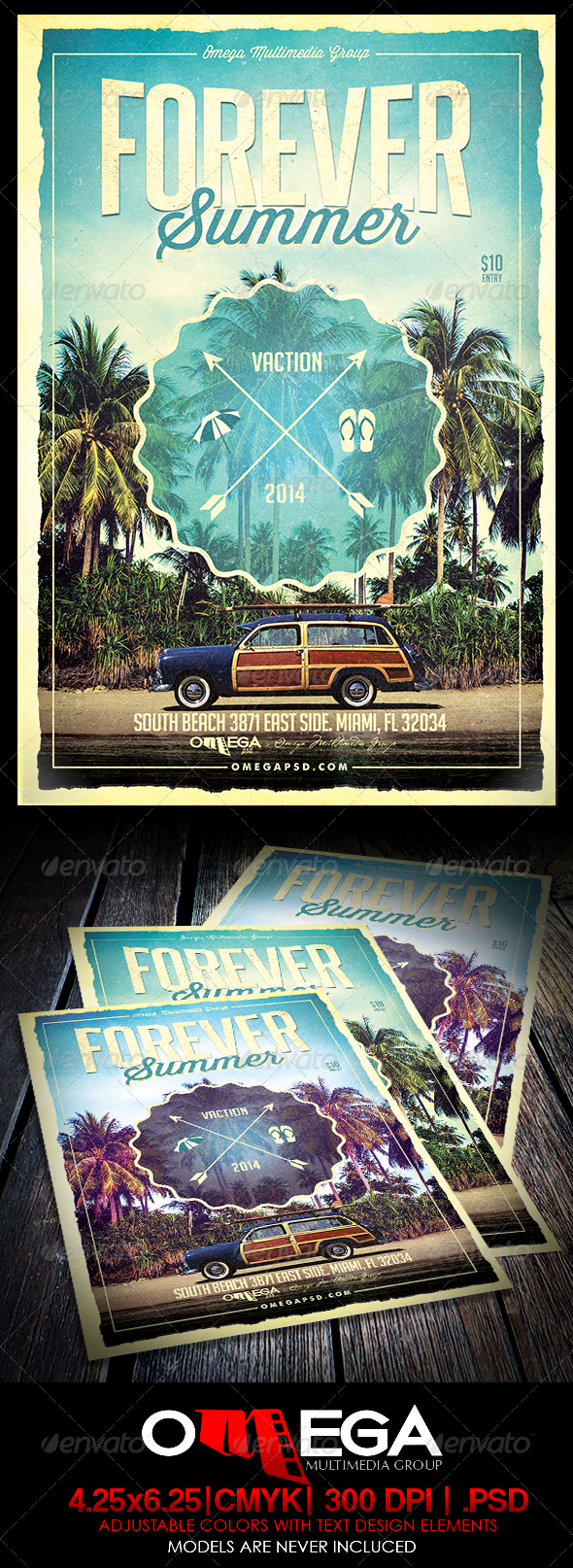 GraphicRiver Forever Summer 8318733
