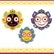 Jagannath, Indian God of the Universe. - GraphicRiver Item for Sale
