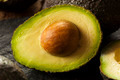 Organic Raw Green Avocados - PhotoDune Item for Sale
