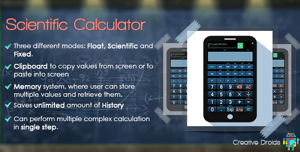 Scientific Calculator - CodeCanyon Item for Sale