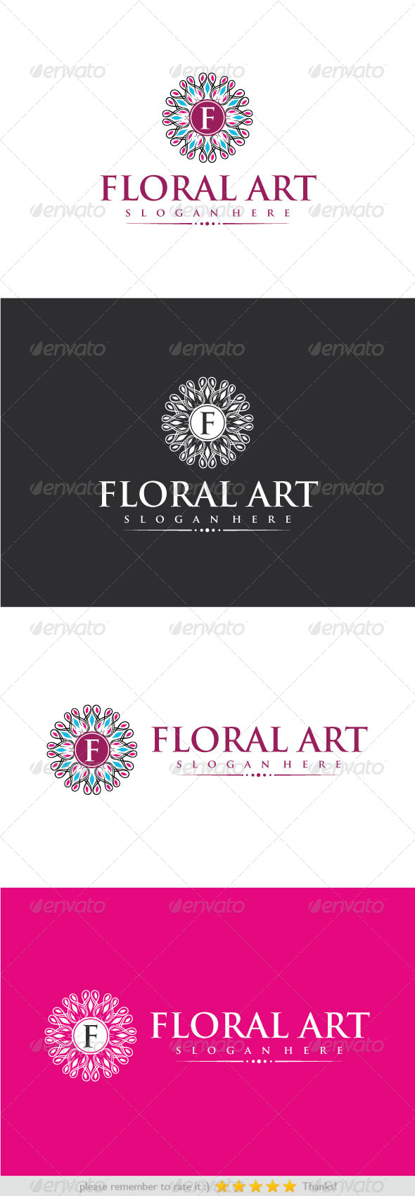 GraphicRiver Floral Art 8318995