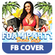 Foam Party | Facebook Cover - GraphicRiver Item for Sale