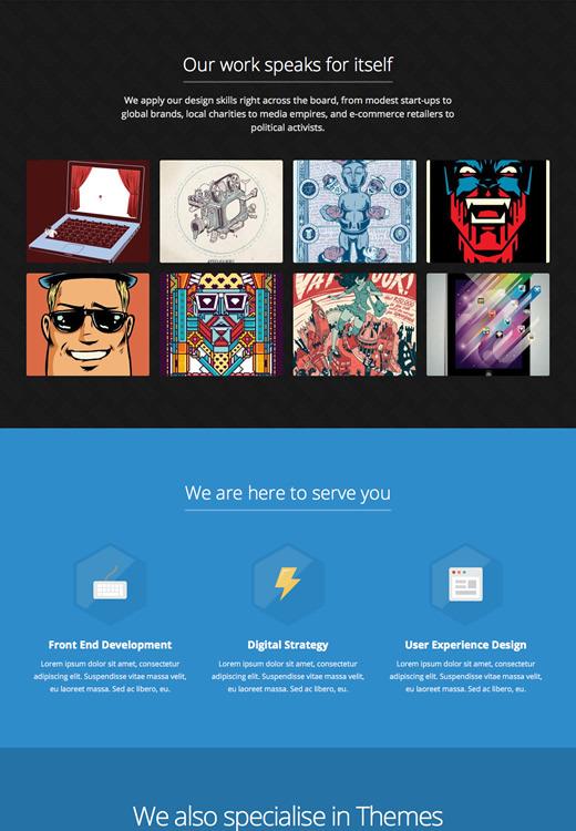 Express - Responsive One Page WordPress Theme