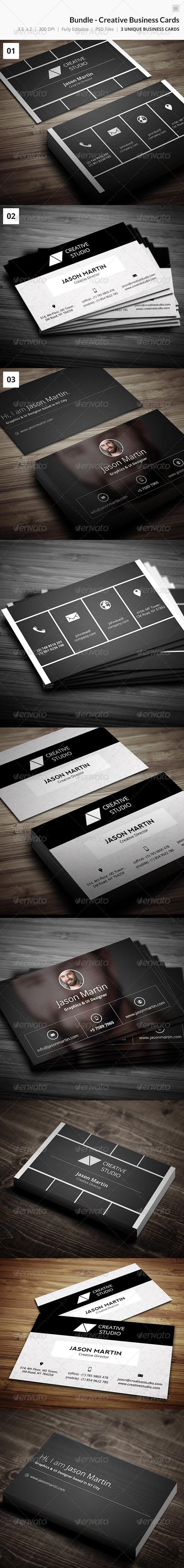 GraphicRiver Bundle Creative Business Cards 35 8319027