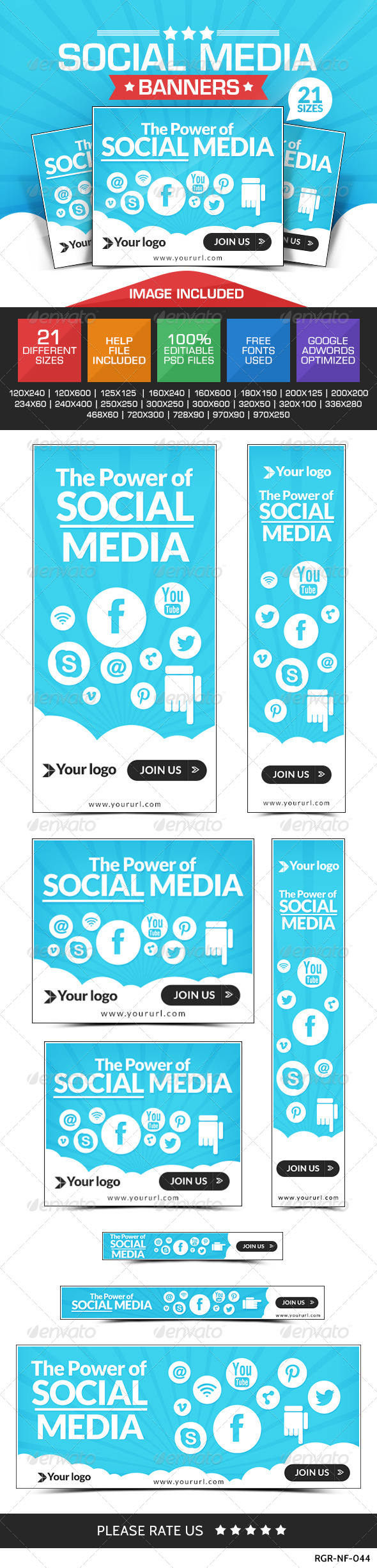GraphicRiver Social Media Marketing Banners 8319161
