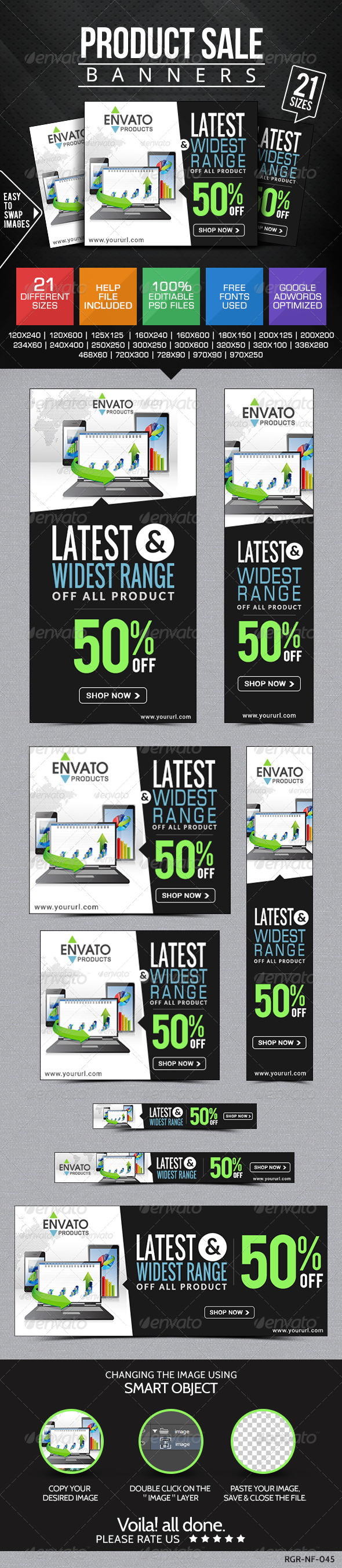GraphicRiver Product Sale Banners 8319167