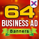Multi Purpose Banner Ads - 4 Colors - GraphicRiver Item for Sale