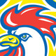 Chicken Rooster Head Mascot Shield Retro - GraphicRiver Item for Sale