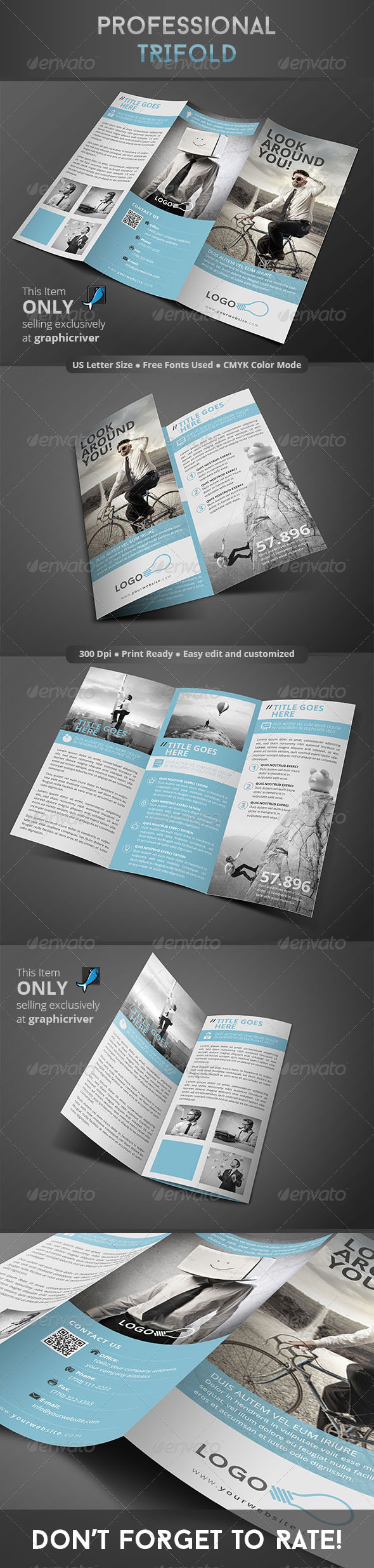 GraphicRiver Professional Trifold 8319378