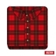 Plaid Shirt Icon - GraphicRiver Item for Sale