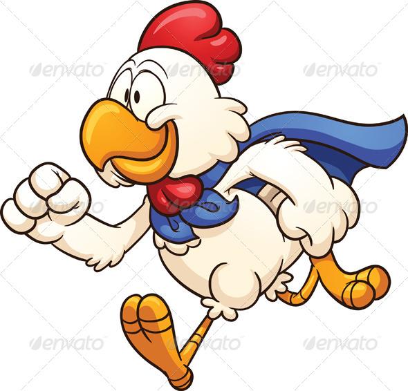 GraphicRiver Super Chicken 8319540