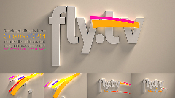 3D Broadcast Logo Animation by flashato | VideoHive